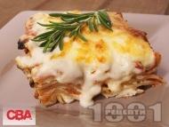 Лазаня с домати и сирене фета